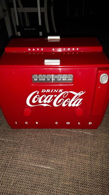 Coca-Cola radio cassette player - year ... 1990
