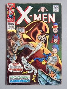Marvel Comics - X-Men #33 - 1x sc - (1967)