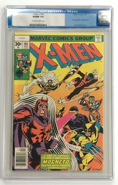 Marvel Comics - X-Men #104 - CGC 9.0!! graded - High Grade - 1x sc - (1977)