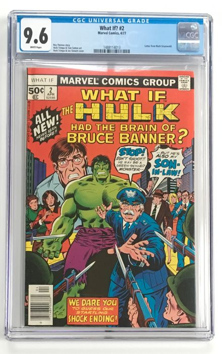 Marvel Comics - What If? Volume 1 #2 - CGC 9.6 graded!!!! Extremely high grade!! - 1x sc - (1977)