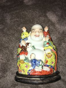Chinese Laughing Buddha - China - second half 20th century