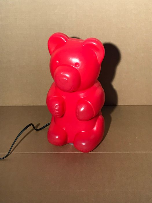 Design lamp in the shape of a Gummi bear