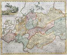 Frieland; Isaak Tirion - Zevenwolden - ca. 1755