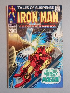 Marvel Comics - Tales of Suspense #99 - Iron Man and Captain America - 1x sc - (1968)