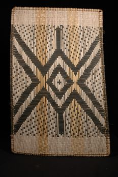 Two braided mats - MBOLE - D.R. Congo