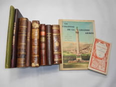 Lot of 10 volumes on the Napoleonic period - 1871 / 1959