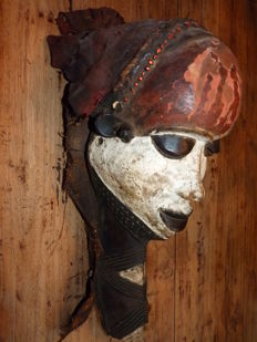 Mbuya mask - Pende tribe -  DR Congo Africa