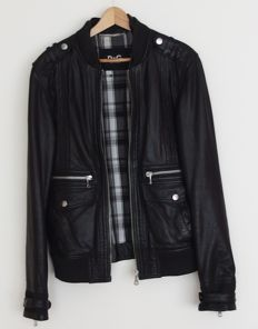 D&G - Leather jacket