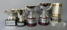 Ferrari club Belgio trophies (from 1978 to 2004) height 15 cm and 2 ties (normal length)