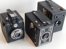 Set of 3 box cameras