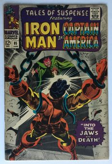 Marvel Comics -Tales Of Suspense #85- 1st Print - (1967)