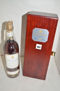 Cognac Louis Royer 23yo 43%, Harvest 1974 - Bottled on 17 Nov 1997, N168 of 480