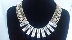 Joan Rivers statement, geometry necklace New York