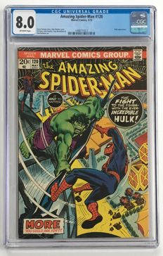 Marvel Comics -The Amazing Spider-Man #120 - CGC Graded 8.0 -  1x sc - (1973)