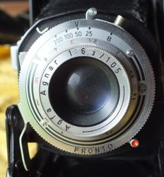 Old Camera Agfa Billy I from 1952