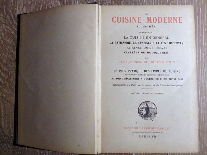 Collective la cuisine moderne circa 1930 catawiki for Cuisine 1930