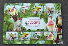 Thematic – WWF Fauna and Flora FDC series and souvenir sheets