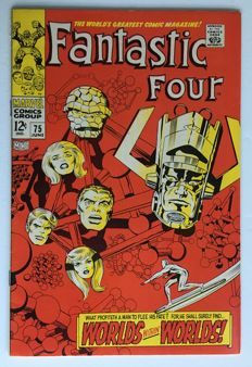 Marvel Comics - The Fantastic Four #75- 1x sc - (1967)