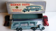 Dinky SuperToys - Scale 1/43 - Pullmore Car Transporter No.982 with Alvis No.38d and Sunbeam Talbot No.38b