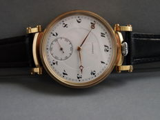 15. Longines marriage men's wristwatch 1925-1926