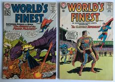DC Comics - World's Finest #130 & #140 - 2x sc - (1962/1964)