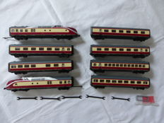 "Roco H0 - 43012/43015 - 8-piece train unit BR601 ""Südwind"" of the DB"