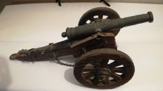 Antique Cannon. For Decoration Only