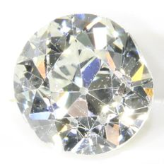 Certified brilliant cut diamond 0.64 ct, G - VVS2