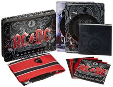 AC/DC: Black Ice (Special Steel Box Edition Cd + Dvd) - Special Package Contains Flag, Stickers, Guitar Pick & 20P. Booklet