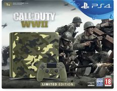 Sony PlayStation 4 Smart Call or Duty WWII Console - Limited Edition - 1TB - PS4 Camo