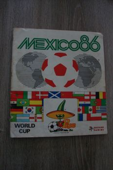 Panini - World Cup 1986 Mexico - Complete Album.