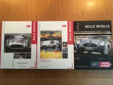 Mille Miglia - Official Catalogues - 2002/2004/2006
