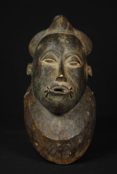 Ceremonial mask - BAULE - Ivory Coast