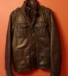 Abercrombie & Fitch of New York - Mens leather jacket