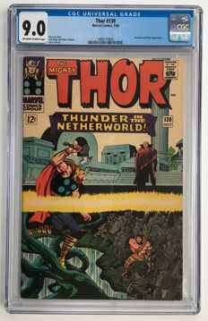 Marvel Comics - The Mighty Thor #130 - CGC Graded 9.0!! - high grade - 1x sc - (1966)