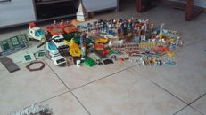 Big lot  Playmobil figures and accessories