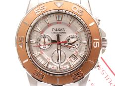 Pulsar chronograph men's watch