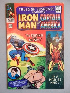 Marvel Comics - Tales of Suspense #68 - Iron Man and Captain America - 1x sc - (1965)