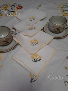 Tea tablecloth