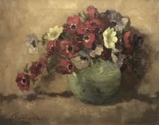 Unknown (20th century) - Bloemen stilleven