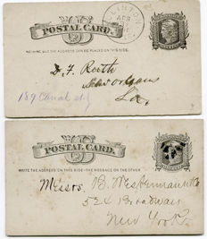 World (incl. USA and Sweden) 1880/1970s - Postcards. Also special issues on various letters.