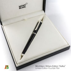"Montblanc Writers Series ""Kafka"" Limited Edition Fountain Pen"