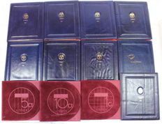 The Netherlands - Year packs (Proof) 1983/1999 - 12 varieties