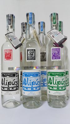 6 Bottles of Alipus Mezcal