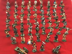75 Delprado soldiers, period Napoleon - figures on a scale of 1:30