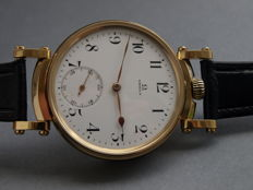 07. Omega men's marriage wristwatch 1913-1914