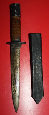 Trench dagger, world war one, with scabbards
