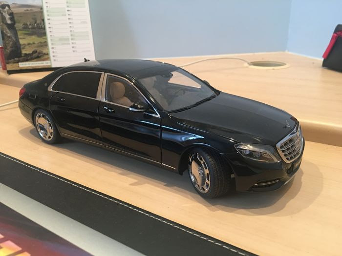 autoart - scale 1/18 - mercedes-benz s600 maybach - black - catawiki