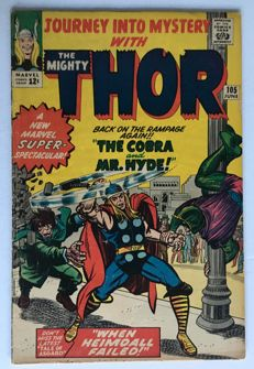 Marvel Comics - Journey Into Mystery / Thor #105 - 1x sc - (1964)