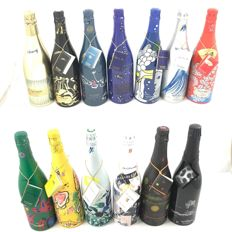 Champagne: the complete Taittinger collection 1979–> 2008 - 13 bottles (75cl) in original cases